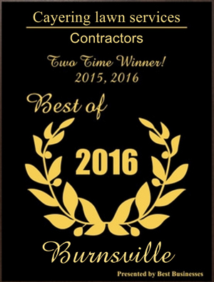 Voted Best Lawn Service in Burnsville, MN 2015 & 2016