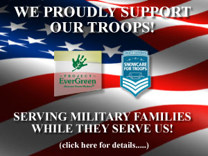 Lawn & Snow removal Services for Military Families